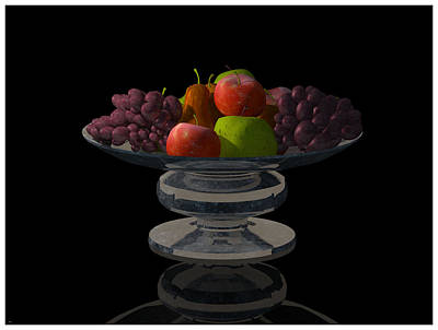 Bowl Of Fruit... Poster