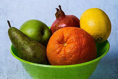 Bowl Of Fruits 2 Poster
