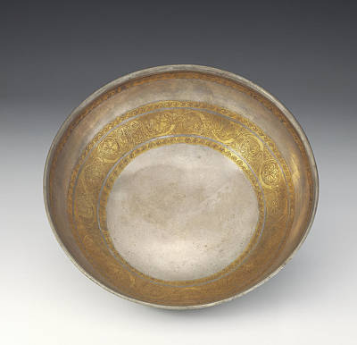 Bowl With Tendril Frieze Unknown Eastern Hellenistic Empire Poster