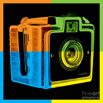 Box Camera Pop Art 2 Poster