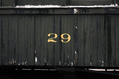 Boxcar Number 29 Poster by Art Block Collections