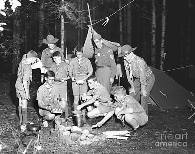 Boy Scouts Campout 1962 Ca Poster