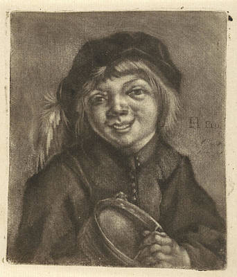 Boy With A Bowl And A Spoon, Jan De Groot Poster by Jan De Groot