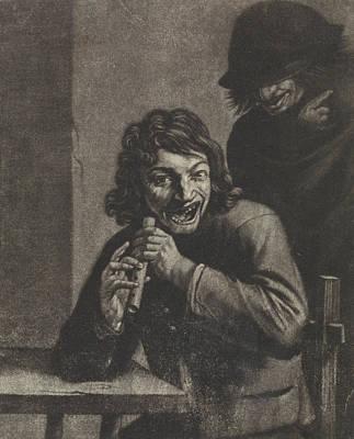 Boy With Flute, Attributed To Jan Van Der Bruggen Poster