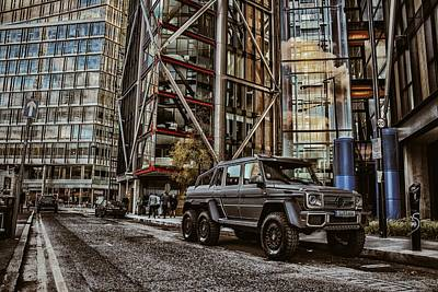 Brabus Mercedes G63 Amg 6x6 Poster