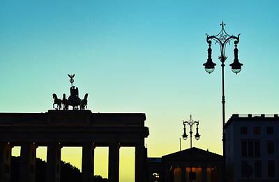 Brandenburg Gate Poster by Gynt