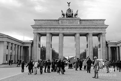 Brandenburger Tor - Berlin Poster by Christiane Schulze Art And Photography