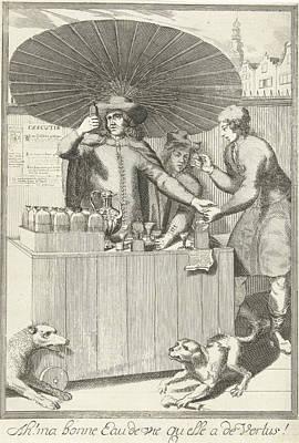 Brandy Seller, Pieter Van Den Berge Poster by Pieter Van Den Berge