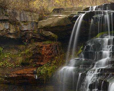 Brandywine Falls Poster by Ann Bridges