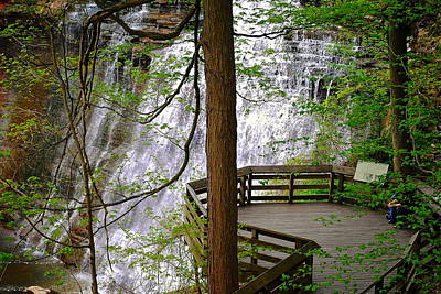 Brandywine Falls Poster by Frozen in Time Fine Art Photography