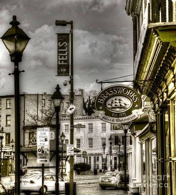Brassworks Poster by Debbi Granruth