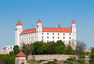 Poster featuring the photograph Bratislava Castle by Les Palenik