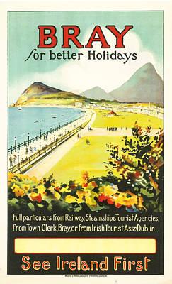 Bray Ireland Poster