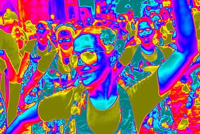 Brazilian Carnival Poster by Arie Arik Chen