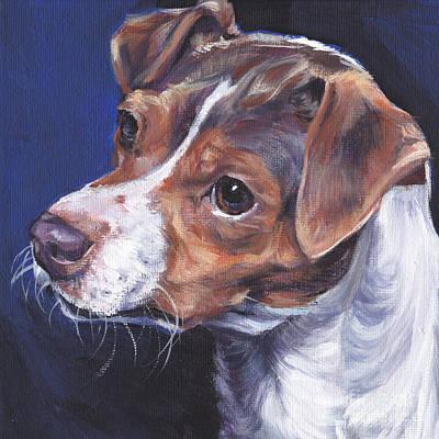 Brazilian Terrier Poster by Lee Ann Shepard