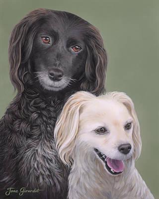 Brea And Randy Poster by Jane Girardot