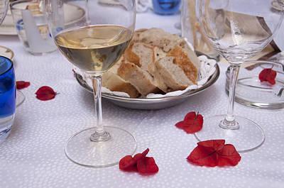 Bread And Wine Italian Restaurant Poster