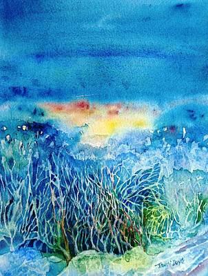Break Of  Dawn  Ireland  Poster by Trudi Doyle