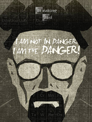 Breaking Bad Walter White Poster Poster