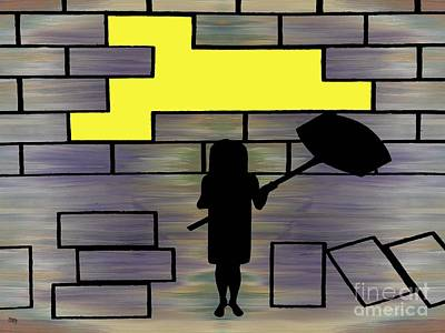 Breaking Down Barriers Poster by Patrick J Murphy