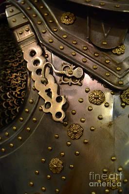 Breastplate Armor Poster by Jill Battaglia