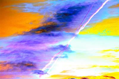 Breathtaking Sky Color Palette  Poster