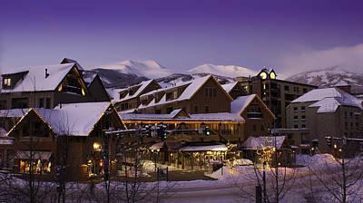 Breckenridge Colorado Resort Poster by Michael J Bauer