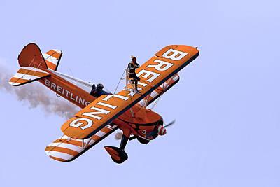 Breitling Wingwalker Poster