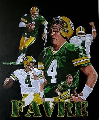 Brett Farve Poster