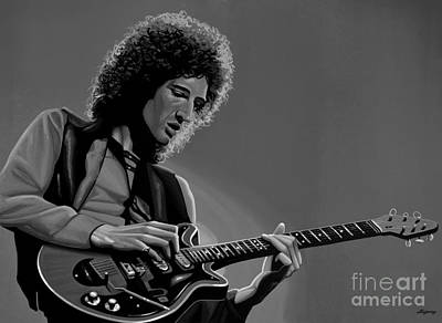 Brian May Of Queen Poster by Meijering Manupix