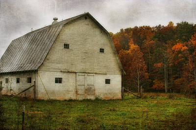 Poster featuring the photograph Brick Barn by Joan Bertucci