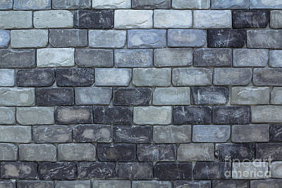 Brick Wall Background Or Texture  Poster by Tosporn Preede