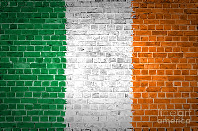 Brick Wall Ireland Poster by Antony McAulay
