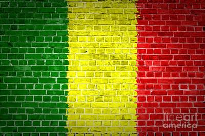 Brick Wall Mali Poster by Antony McAulay
