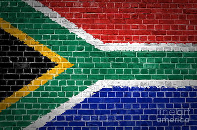 Brick Wall South Africa Poster by Antony McAulay