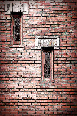 Brick Work Poster by Melanie Lankford Photography