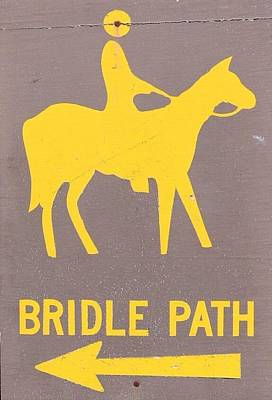 Bridal Path Poster by Kelly Grant