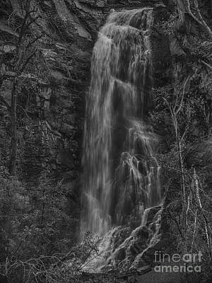 Bridal Veil Falls At Spearfish Canyon South Dakota Poster