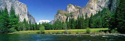 Bridal Veil Falls, Yosemite National Poster by Panoramic Images