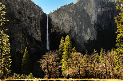 Bridalveil Fall Poster by Celso Diniz
