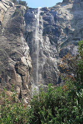 Bridalveil Fall Yosemite Park Poster by Christiane Schulze Art And Photography