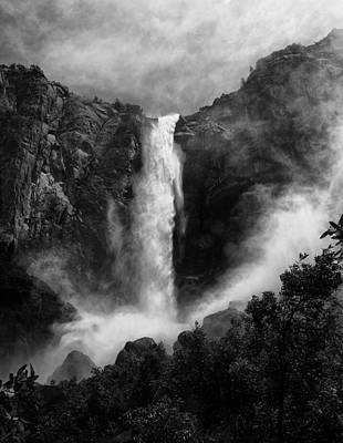 Bridalveil Falls Poster by Cat Connor