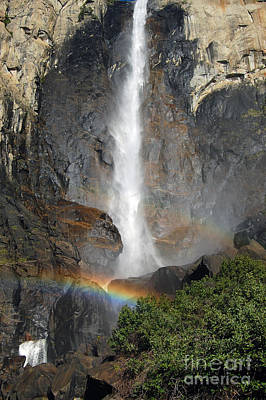 Bridalveil Falls No Sky Poster