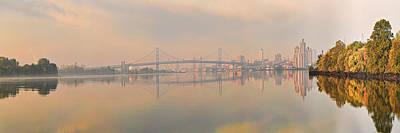 Bridge Across A River, Benjamin Poster by Panoramic Images