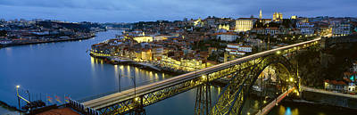 Bridge Across A River, Dom Luis I Poster by Panoramic Images
