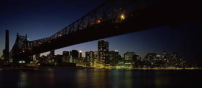 Bridge Across A River, Queensboro Poster