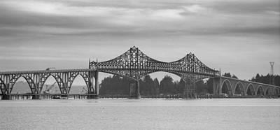 Bridge At North Bend Poster