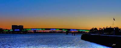 Bridge At Twilight Poster