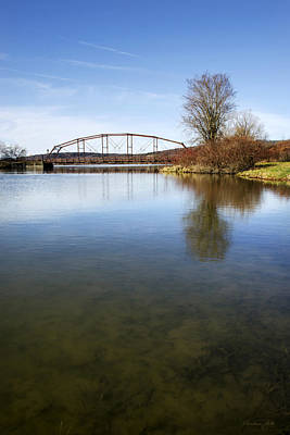 Bridge At Upper Lisle Poster by Christina Rollo