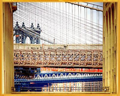 Bridge In A Box Poster by Vicki Jauron